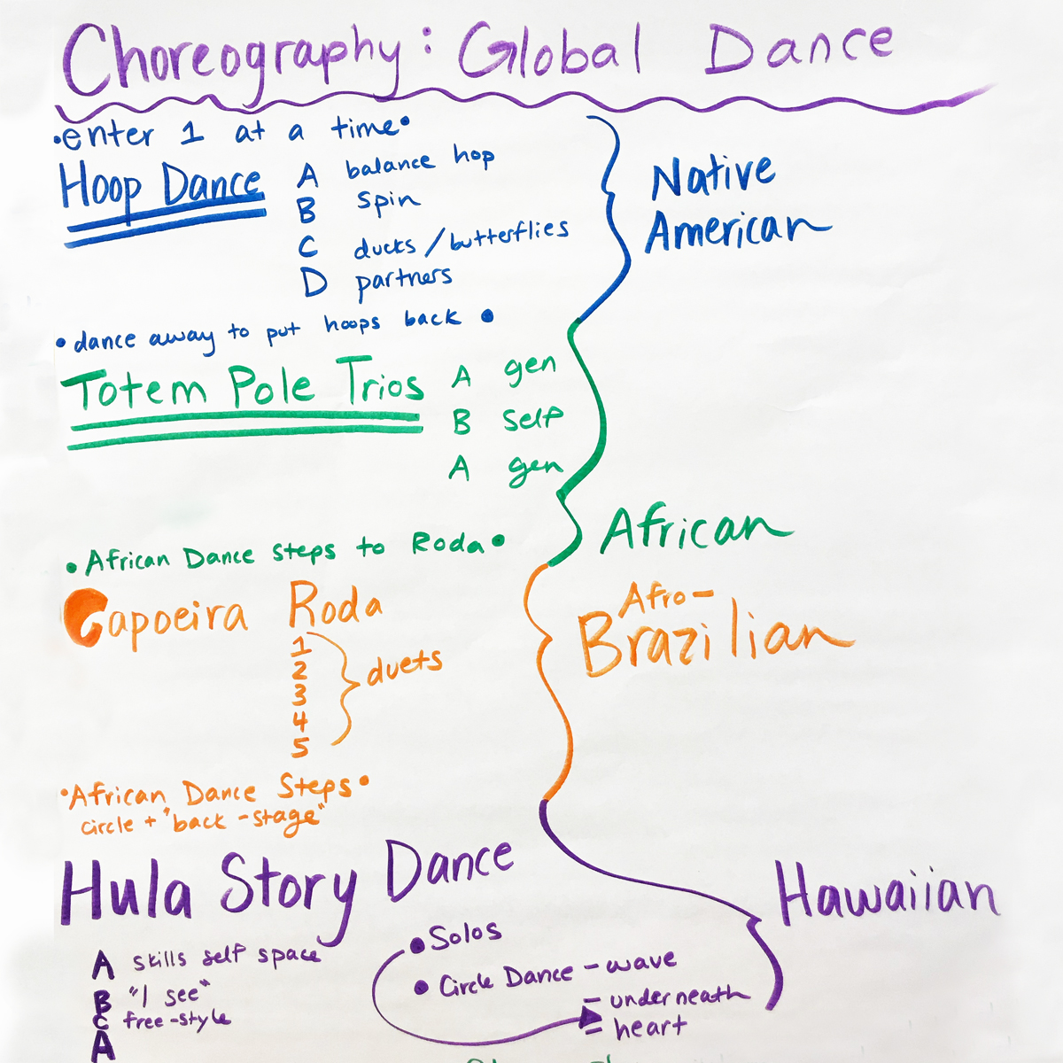 Global Dance Camp - In Studio